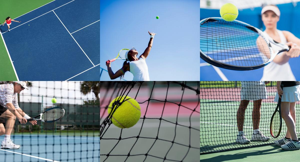 start playing tennis