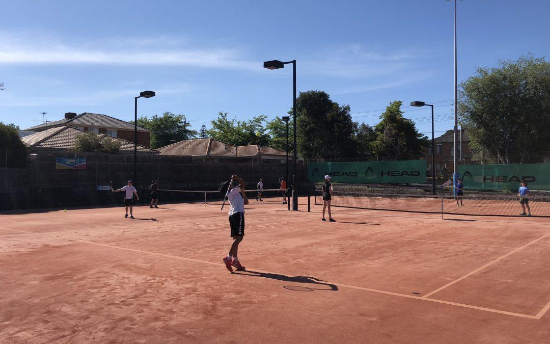 Junior Inter-Club Team Tennis
