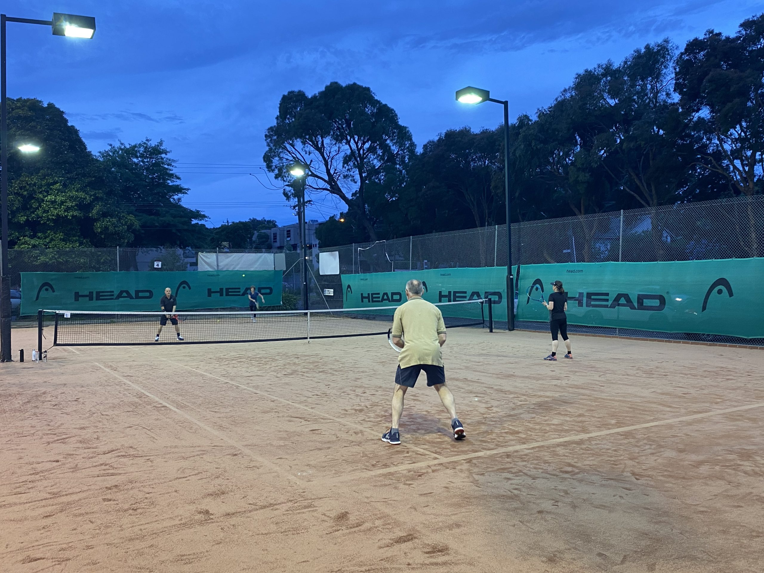 Adult Tennis Match Play