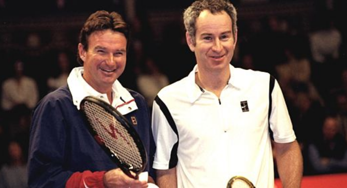 Tennis Rivalry between John McEnroe and Jimmy Connors