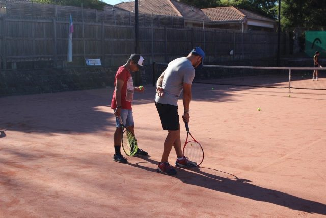 Junior Private tennis lesson