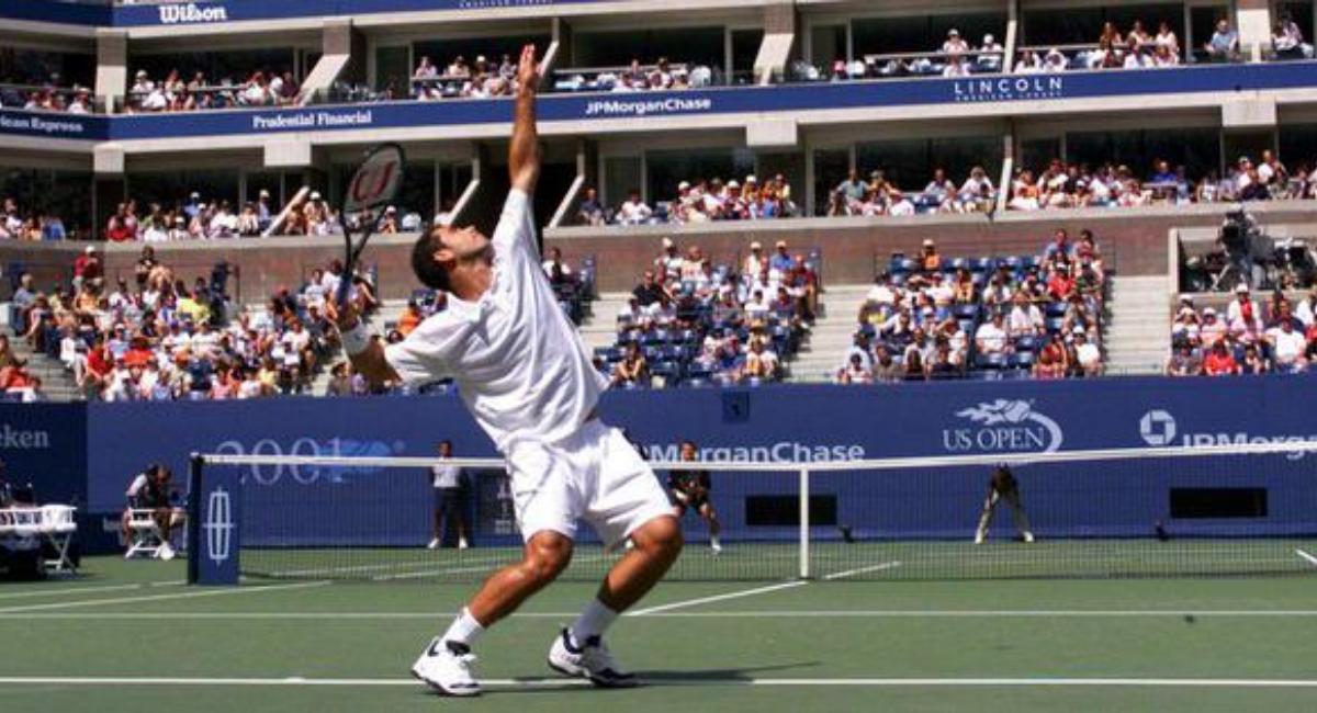 Pete Sampras Tennis Serves
