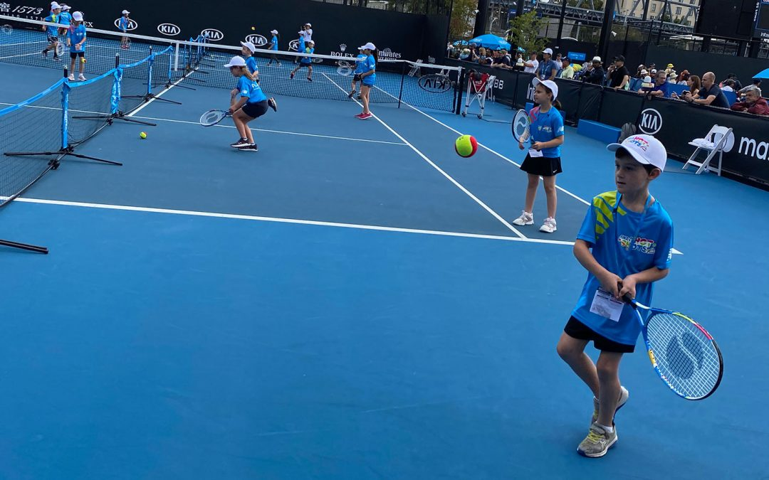 Our Coaching Methodology: ANZ Tennis Hot Shots Program (3-12 years old)